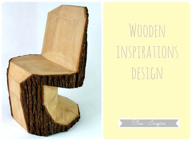 krzesło z drewna diy