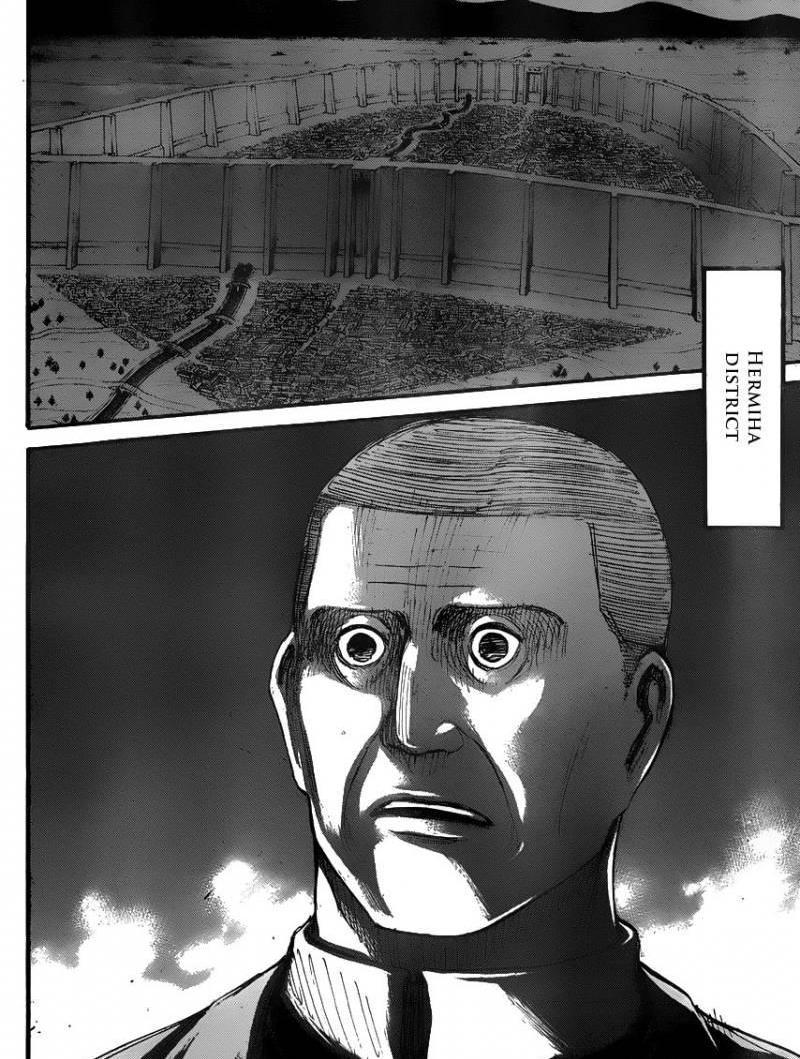 Shingeki no Kyojin Ch 37: To the Southwest
