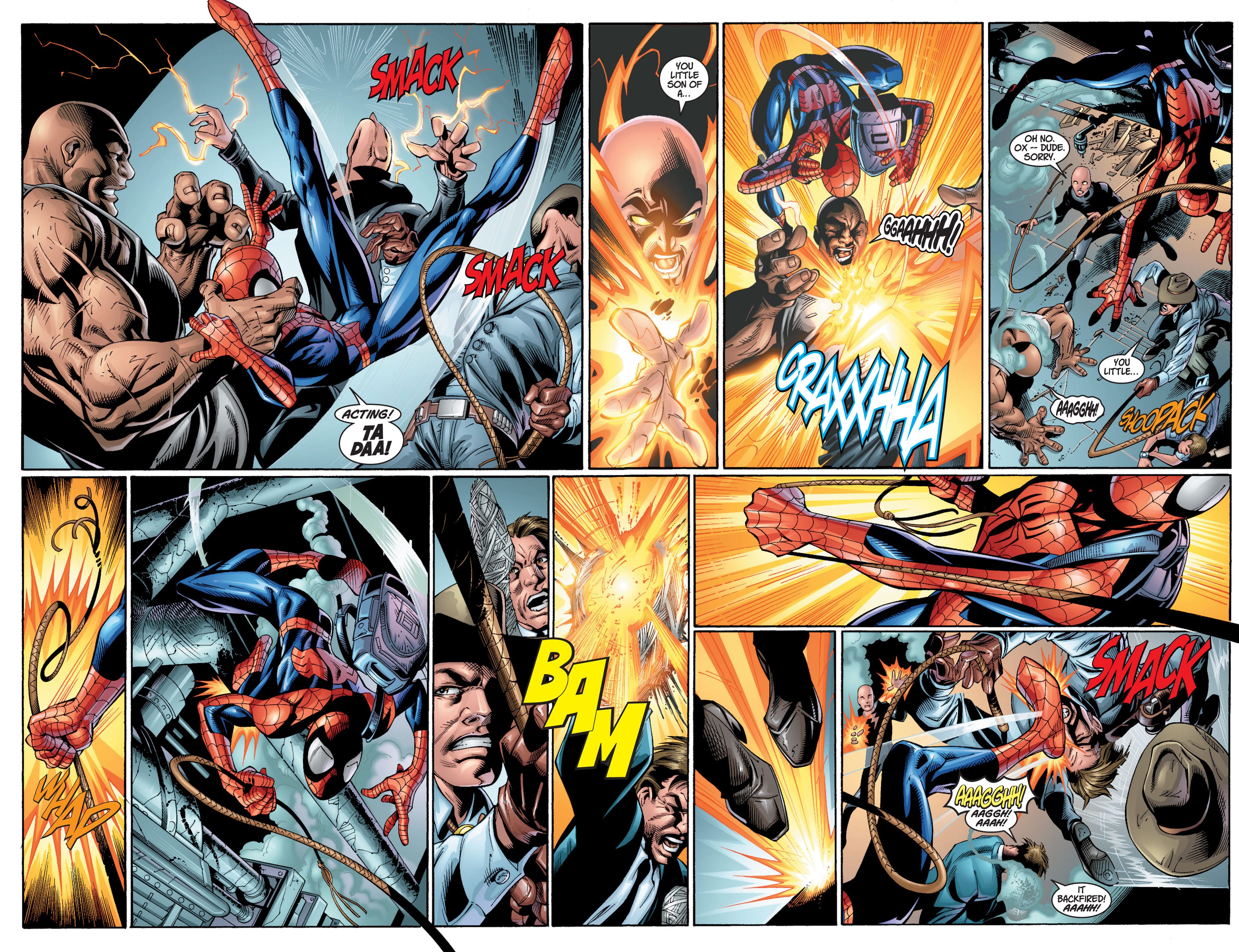 Read online Ultimate Spider-Man (2000) comic -  Issue #12 - 6