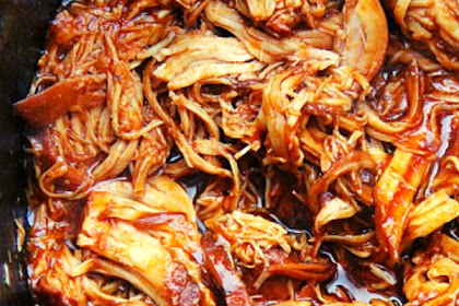 The Best Crockpot BBQ Chicken