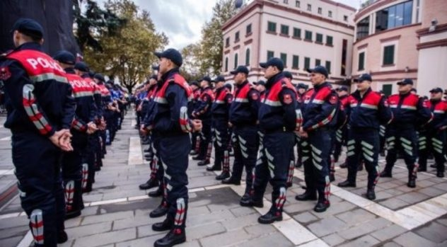 Up to € 4000 to become Police Commissar in Albania