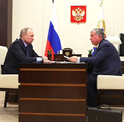 Vladimir Putin, Igor Sechin, Kremlin.