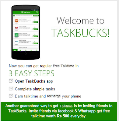 Earn Upto ₹600 Mobile Recharge/Real Money Daily from Task Bucks