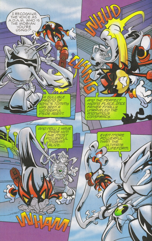 Read online Sonic The Hedgehog comic -  Issue #168 - 17
