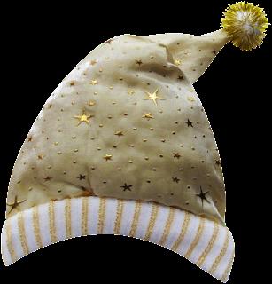 star studded santa hat