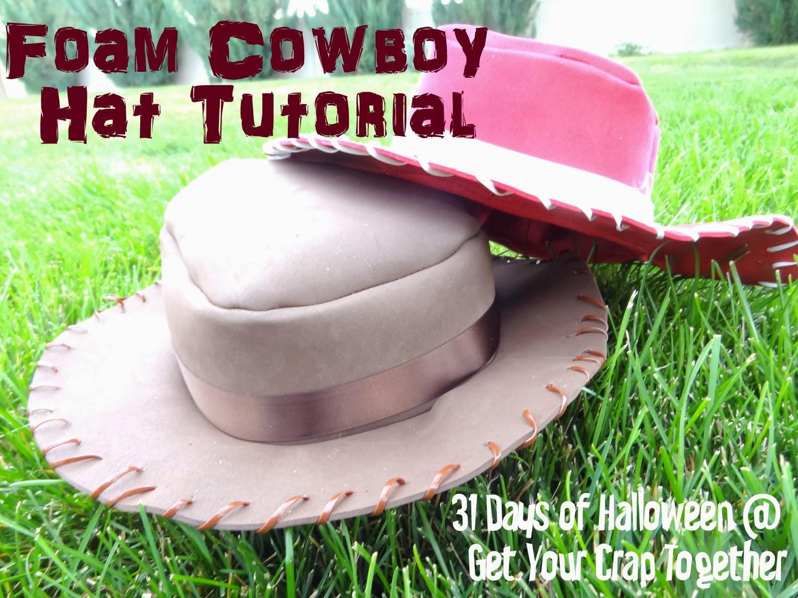 cowboy hat pattern # 54