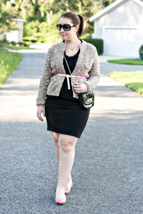 3f072821631 Sweater  Loft   Dress  Loft   Shoes  Ann Taylor  Similar   Similar    Belt  TJ  Maxx   Sunglasses  Dior   Jewelry  David Yurman