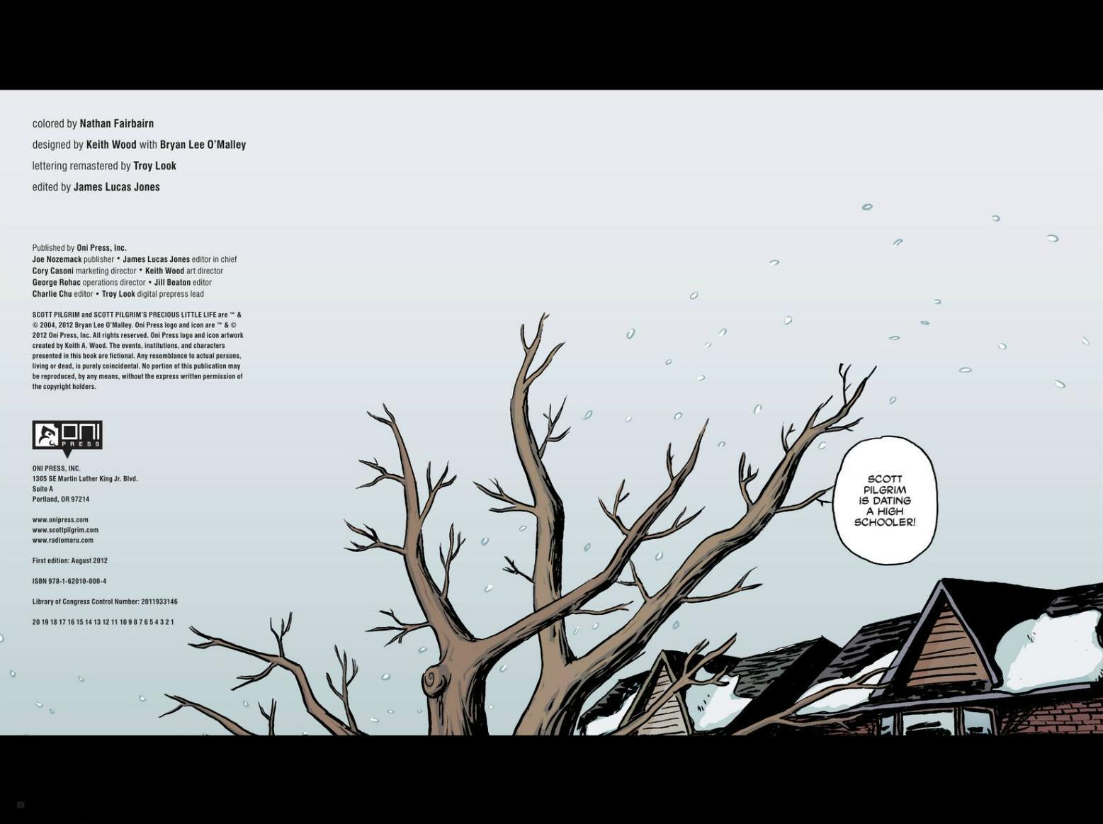 Read online Scott Pilgrim comic -  Issue #1 - 5