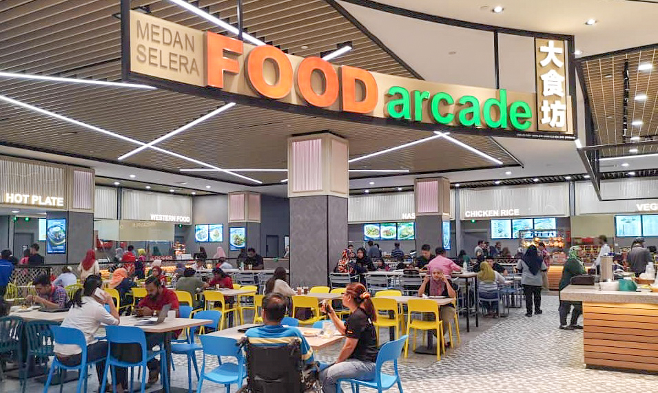food arcade, paradigm mall petaling jaya