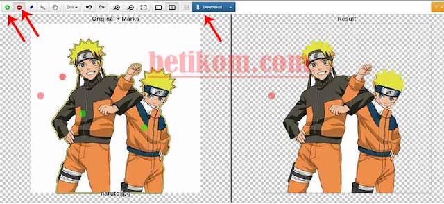 menghilangkan background putih secara online
