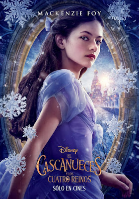 The Nutcracker And The Four Realms 2018 DVD R1 NTSC Latino
