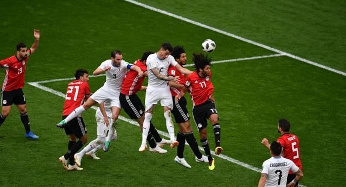Statistik Pertandingan Mesir vs Uruguay - Piala Dunia 2018
