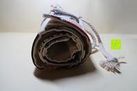 zusammengeknotet: Damero Rollentasche für Gelstift Schreibzubehör gerollter Halter mit Leiwand für Buntstift Reiseorganisator-Beutel für Künstler, Mehrzweck (keine Bleistifte im Lieferumfang enthalten), 48 Löcher, Katzen