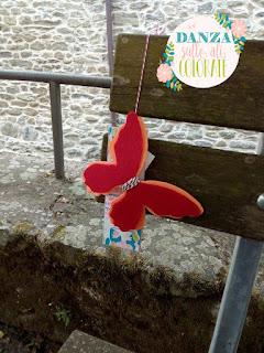 farfalla feltro