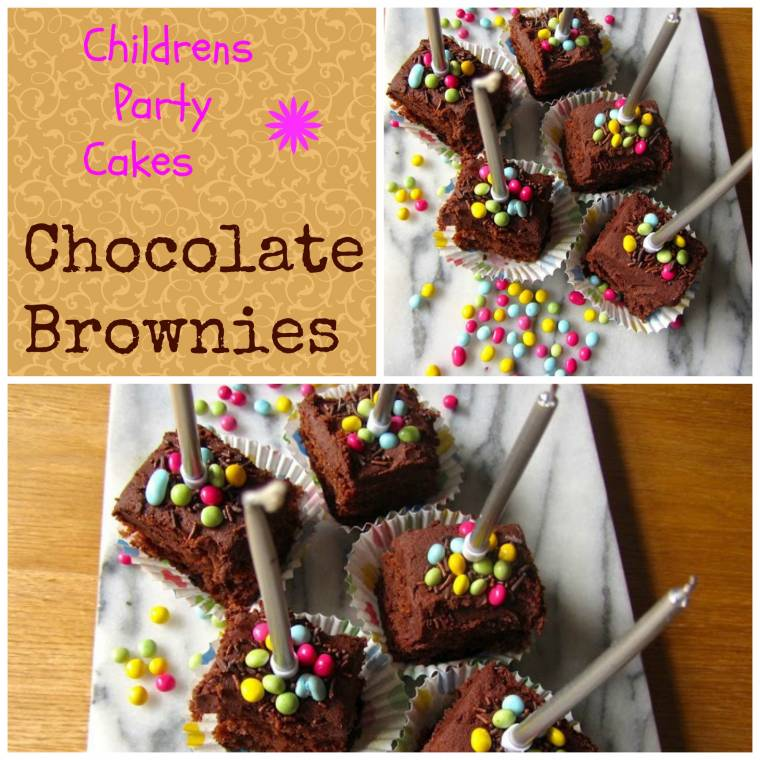 Chocolate Brownies: Children's Party Cakes