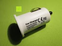 Ladegerät Seite: Aiho 50ml USB Auto Aroma Diffuser Mini AD-P3 Aromatherapie Ätherische Öl Ultraschall Luftbefeuchter Humidifier