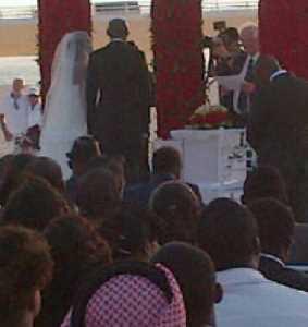 annie macaulay white wedding pictures