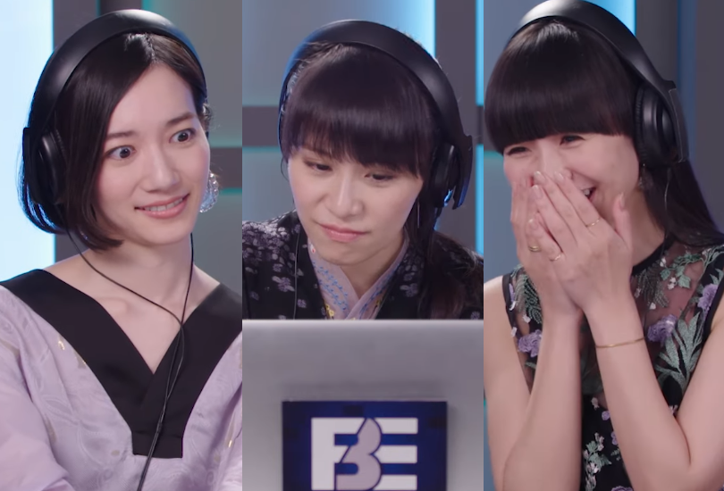 Perfume star in a 'teens react to' video and spill a drop of tea | Random J Pop