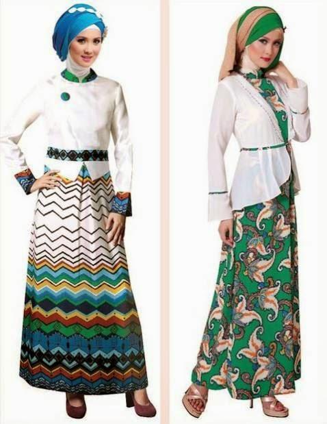 Model Baju Muslimah Terbaru 2015