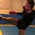 Vídeos da Camila Guper em seu treino de Muay Thai