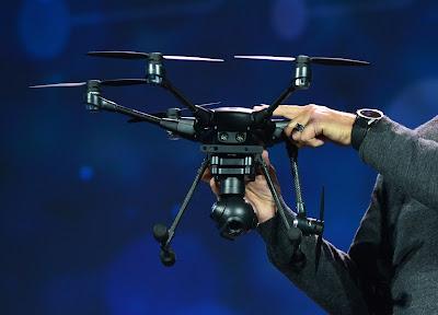 Drone Professional Yuneec Typhoon H - GudangDrone