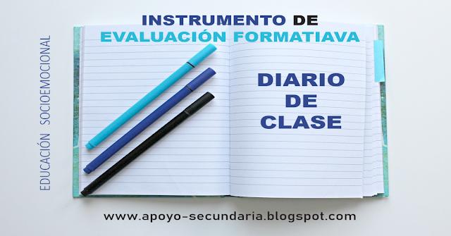 Instrumento de evaluación: El diario de clase