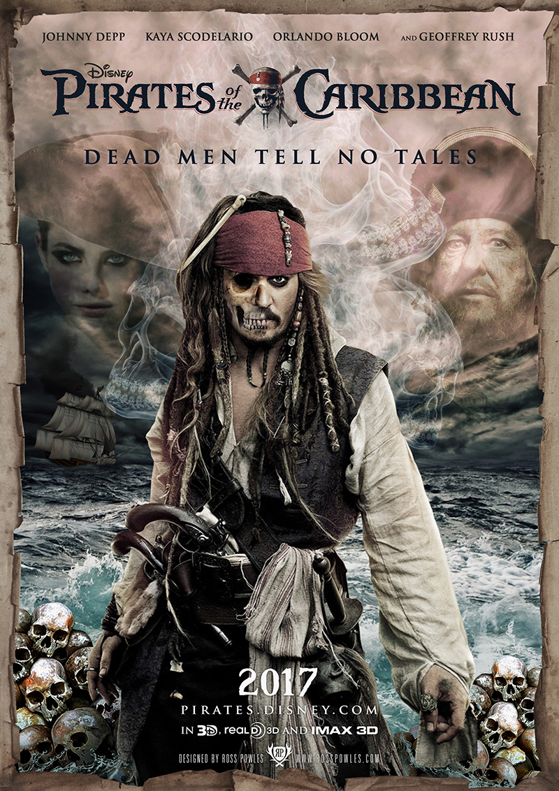 pirates of the caribbean rollista