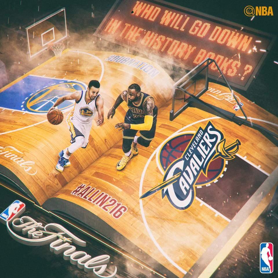 NBA Finals 2016 Schedule of CLE vs GSW games