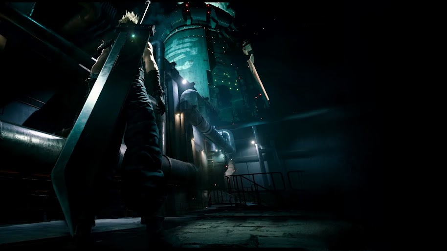 Wallpaper final fantasy 7 1366x768