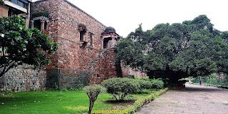 Firoz Fort at Hauz Khash