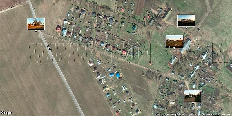 Спутниковая карта Самуэлево. Минский район