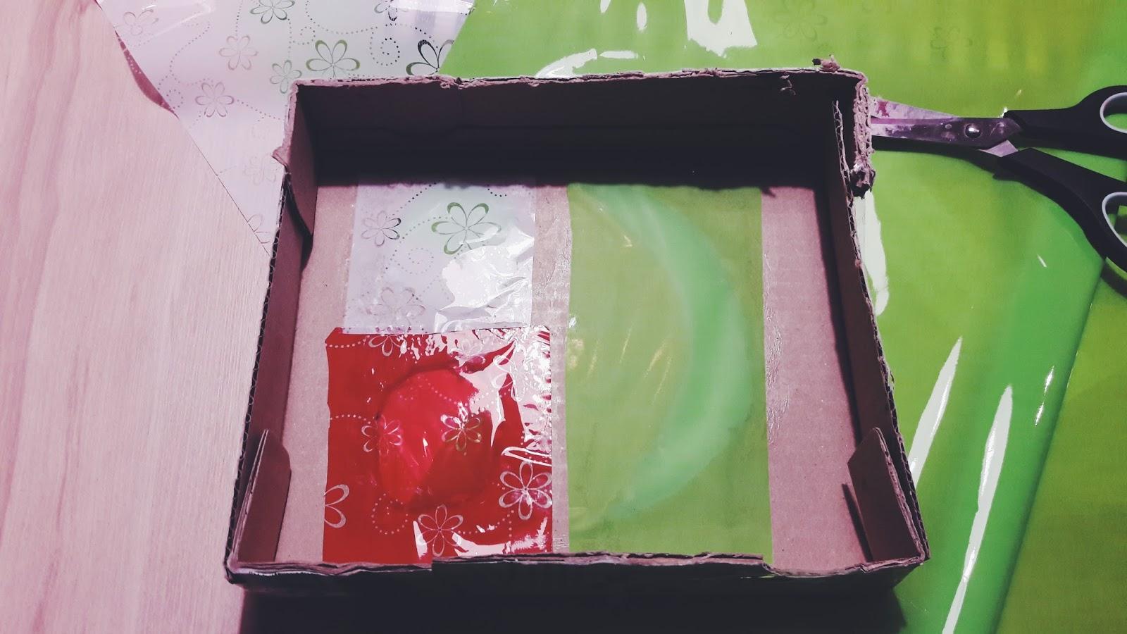 Cudowna maska robota - blog tocusiowo - naklejamy kolorową folię na maskę