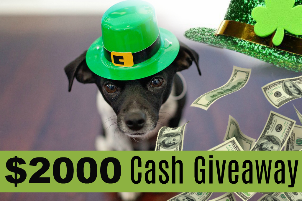 Catch The Luck Of The Irish With This $2000 Cash Giveaway By Barbies Beauty Bits