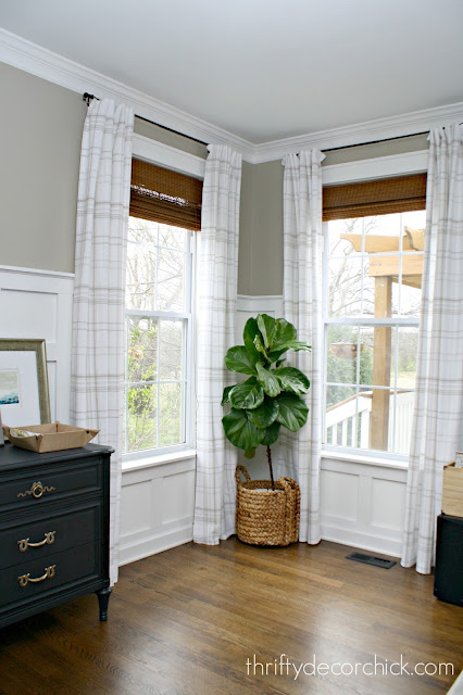 How to make drapes longer