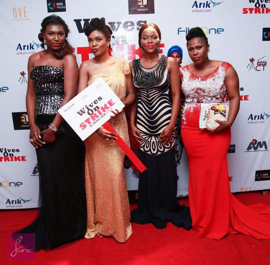 See selective pictures from Omoni Oboli's reality debut of Wives On Strike.