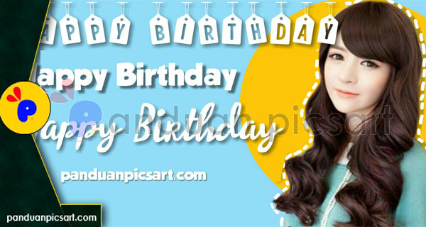 ucapan ulang tahun hbd picsart