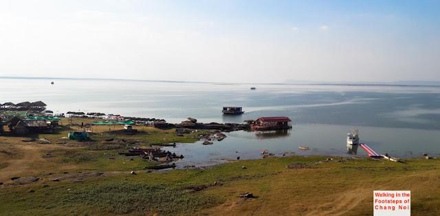 Ubolratana lake in Khon Kaen