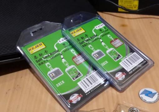 Jual casing ID card elastis murah dan awet