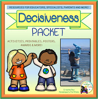 Decisiveness Character Education - Social Skills Teaching Packet