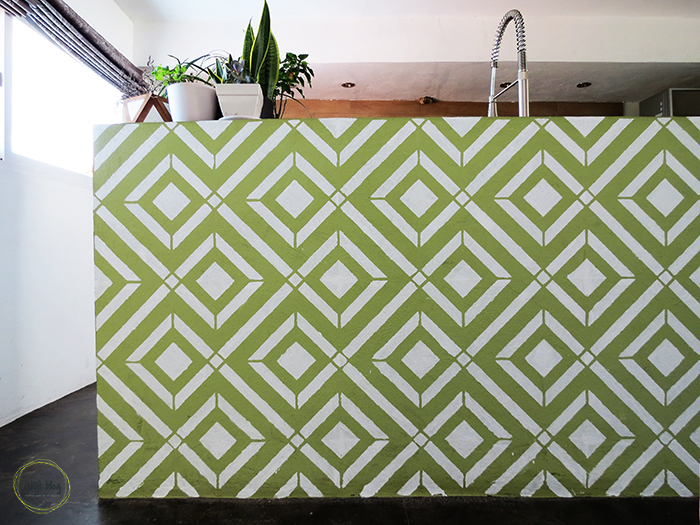 How to use a stencil to create an accent wall