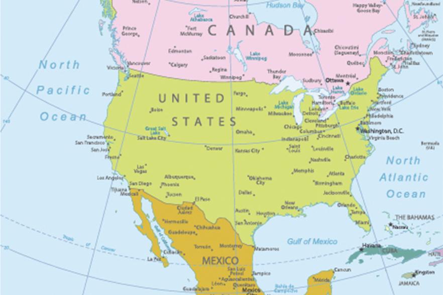 Gambar Negara Maju Di Benua Amerika Nama Negara Di Benua Amerika Utara Dan Ibukotanya Jagoan Sekolah