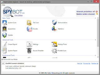 Spybot Search & Destroy 2.4