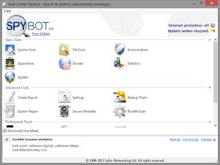 Spybot Search & Destroy 2.4