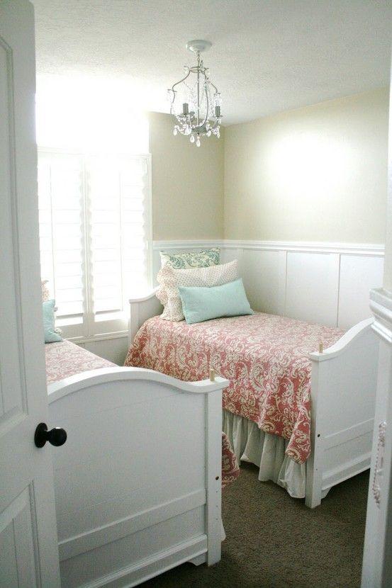 Quarto pequeno para duas meninas reciclar e decorar blog for Dormitorio 2x3