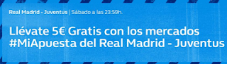 William Hill promocion Real Madrid vs Juventus 4 agosto