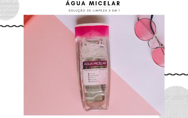 Água micelar loreal  5 em 1