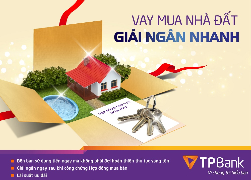 Ngân hàng TPBank hỗ trợ cho vay mua nhà tại The Golden Palm