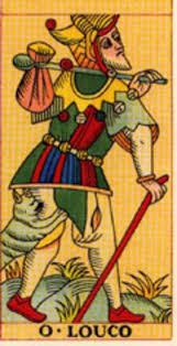 Carta do tarot o Louco XXII/0