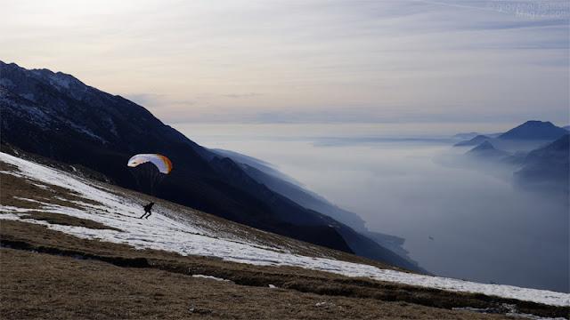 Panorama del Lago di Garda dal Monte Baldo