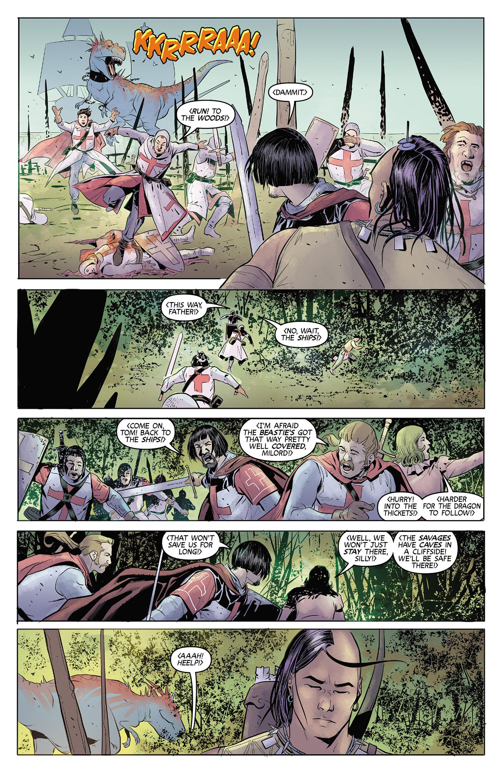 Read online Turok: Dinosaur Hunter (2014) comic -  Issue #4 - 6